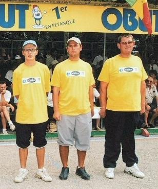 Opposé en 1999 , Gaubert et les frères Stievenart seront équipiers et demi finaliste en 2003 toujours à Millau