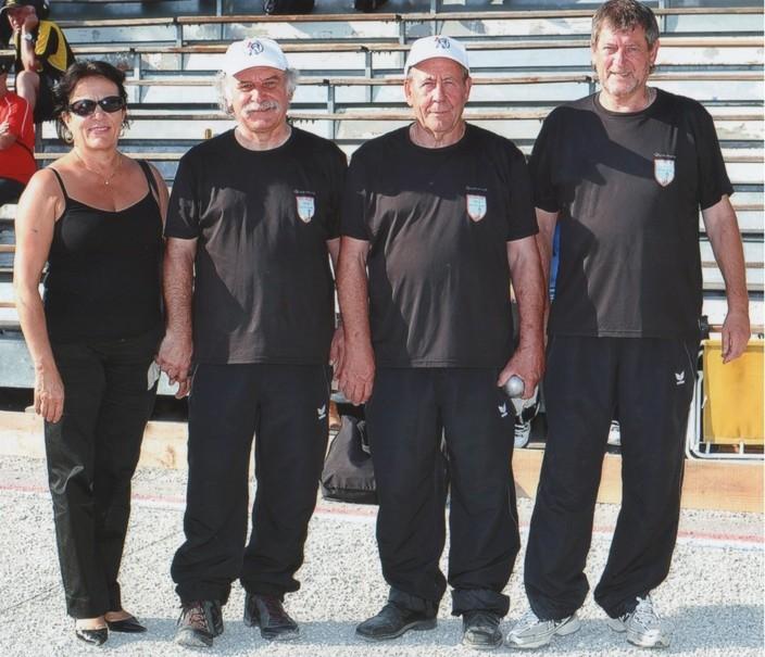 Championnat de France vétéran à Anduze