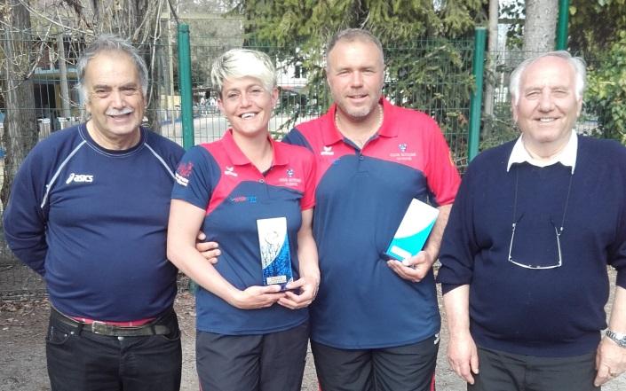 Fabien et Suzy DEVEZEAUD qualifiés pour les Championnats de France à Saint Pierre les Elbeuf