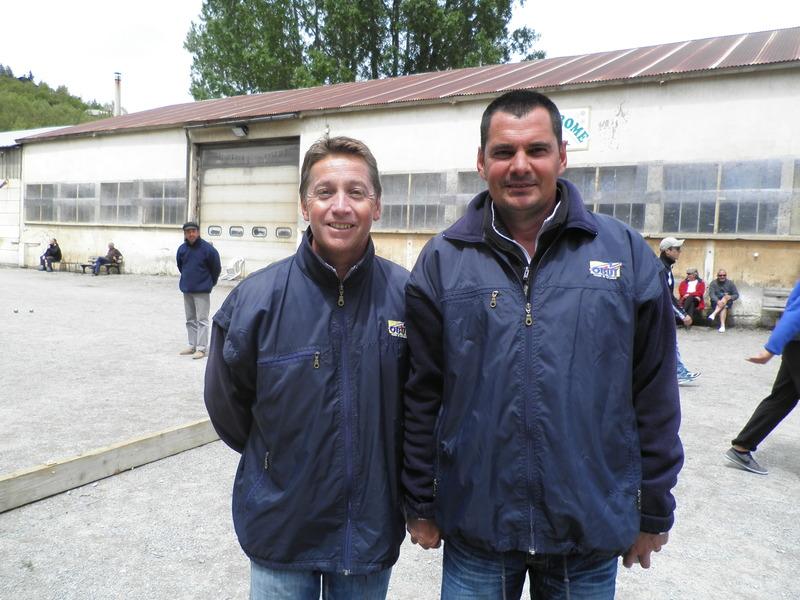 Daniel ROUSTAN et Frédéric ARNAUD : 2011 sera l'année d'un superbe doublet pour eux triplette/Doublette