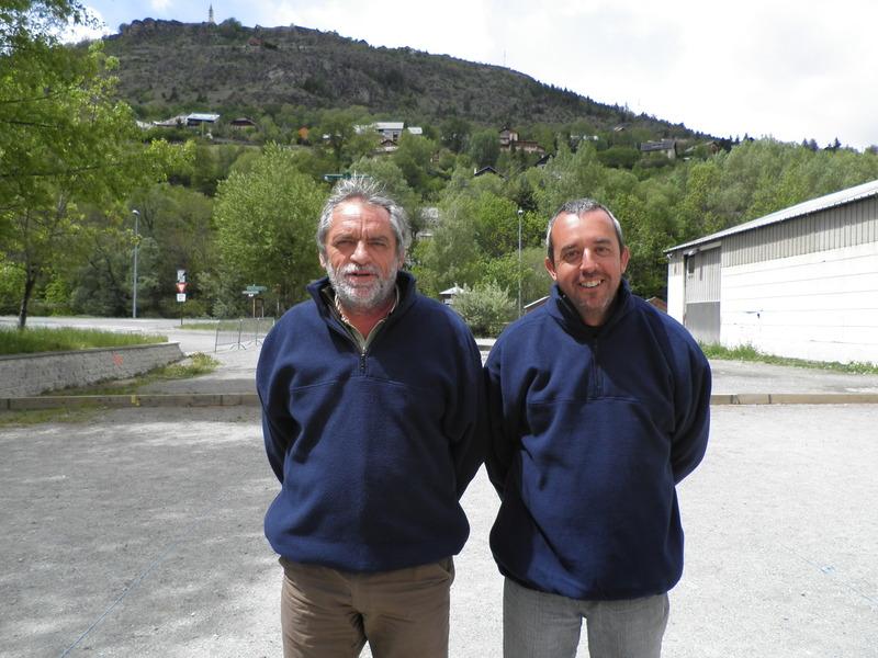 Patrick et Christian (Veynes) encore demi finalistes malheureux comme à Laragne