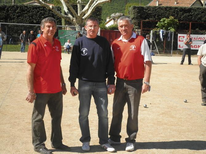 Championnat départemental Triplette jeu provençal