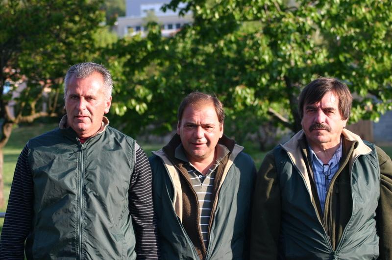 Muccini - Paoletti - Liotard quart de finalistes représentant LA BOULE EN BOIS