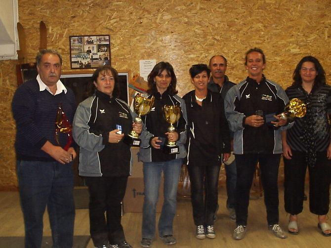 Les Championnes 2011 du GAP