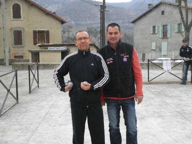 Jean BOIN (GAP) et Frédéric ARNAUD (Briançon)