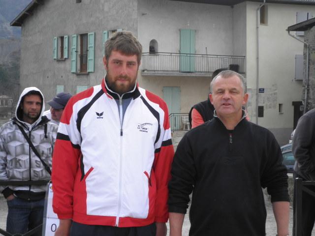 Romain LOMBARDO (Valserres) et Bruno FRANZA (Tallard)
