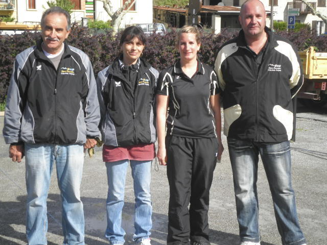 Maryse MORETTI et Patrick GIELLY (Veynes) CHAMPIONS DEPARTEMENTAUX DOUBLETTE MIXTE 2012