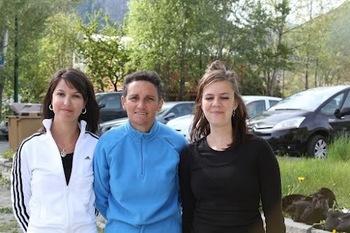 Troisième titre 2012 pour VEYNES avec ILLY Myriam , ROUX Anaïs et ILLY Florence
