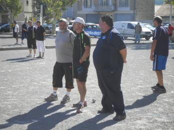 Quart de finaliste et derniers représentants Haut Alpin la formation de Bruno d'Embrun gardera un bon souvenir de ce Laragne 2012