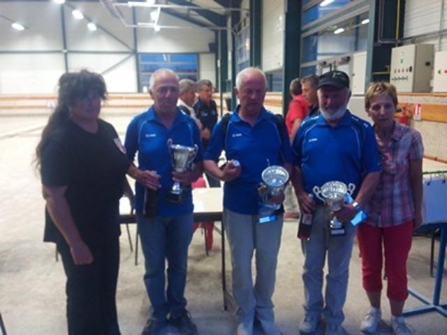 Championnat Départemental Triplettes Vétérans dimanche 08 juin - LARAGNE