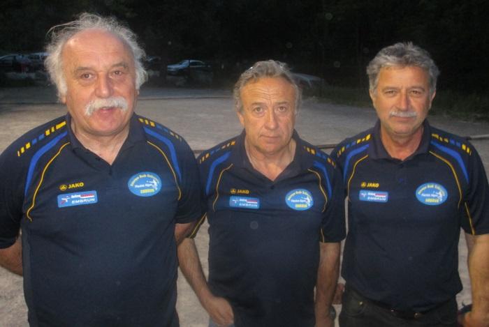 Championnat Départemental Triplettes Vétérans  le 14 mai à Guillestre
