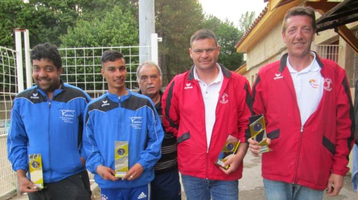 Championnat Départemental Doublettes Jeu Provençal 28 et 29 mai 2016 à Laragne
