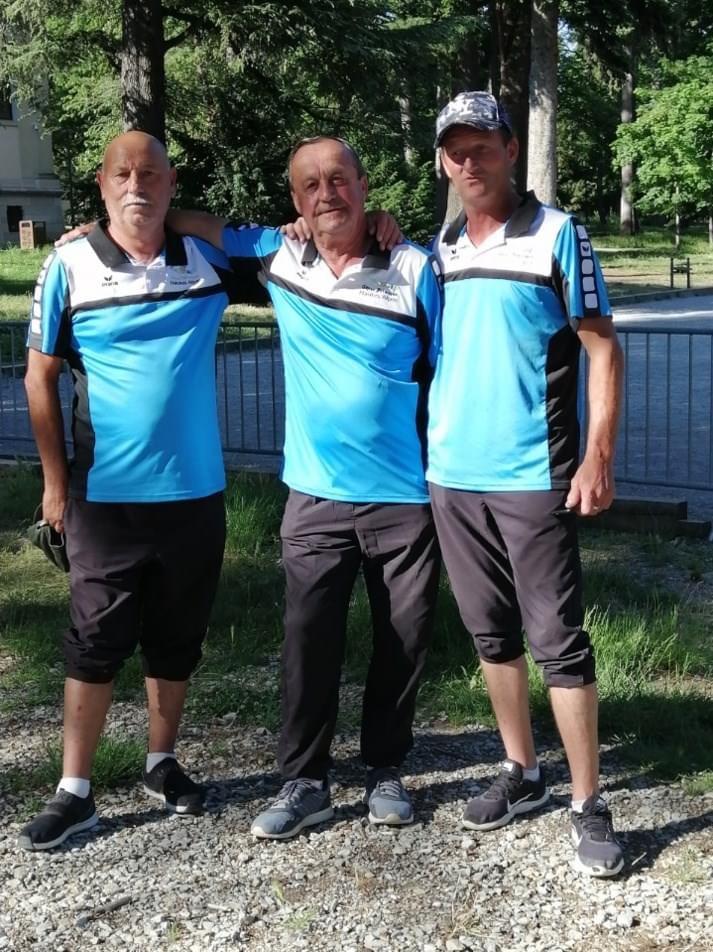 Résultat Championnat de France Triplettes Promotion