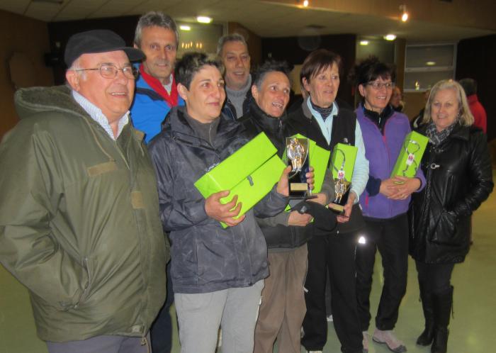 Championnat Départemental - Individuel féminin  - 15 mars  - SERRES