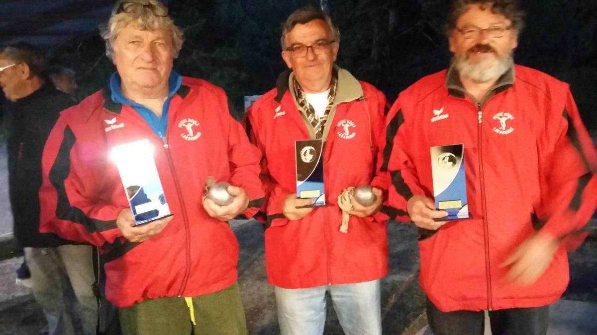 Championnat Départemental Triplettes vétérans le 19 mai à Guillestre