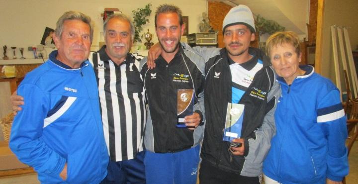 Championnat Départemental Doublettes pétanque les 04 et 05 juin 2016 à Briançon
