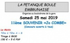 EMBRUN - Souvenir Jo Combe - Samedi 25 mai 2019