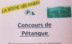 La Roche des Arnauds - Pétanque Doublette - Samedi 20 juillet