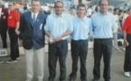 Championnats Départementaux Triplettes Pétanque de 2000 à 2005
