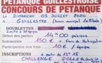 Dimanche 05 juillet 2020 Guillestre concours pétanque doublette