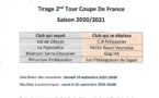 Tirage second Tour Coupe de France 2020/2021