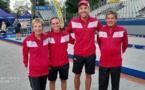 Championnat de France Doublettes Mixtes Résultats