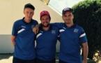 """Championnat de France triplette provençal 2015 à Vauvert avec """"les Valserrois"""""""