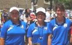 Championnat de France  triplettes féminines
