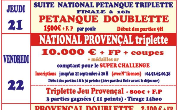 LARAGNE - 63° critérium bouliste