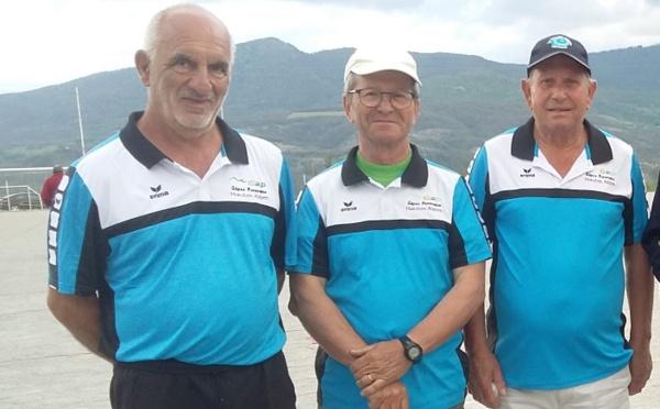 Championnat Départemental Triplettes Vétérans le jeudi 17 mai 2018 à La Bâtie-Neuve - Stade des Césaris