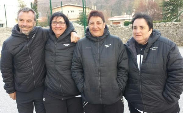 Championnat Départemental Triplettes Pétanque féminines le 14 avril 2019 à Veynes