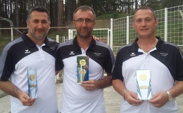 Championnat Départemental Triplettes Jeu Provençal les 20 et 21 avril 2019 à Laragne