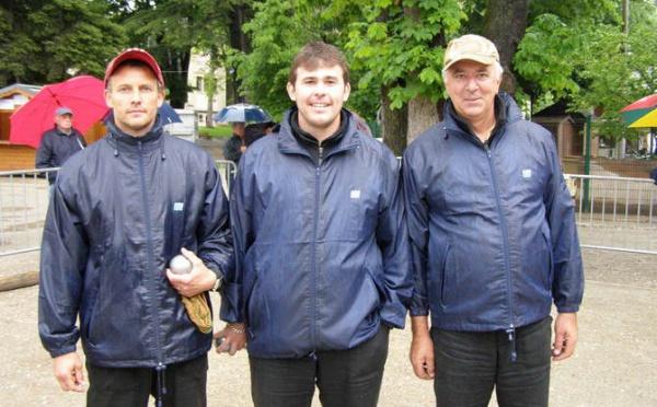 Championnats Provençal triplette et Doublette...