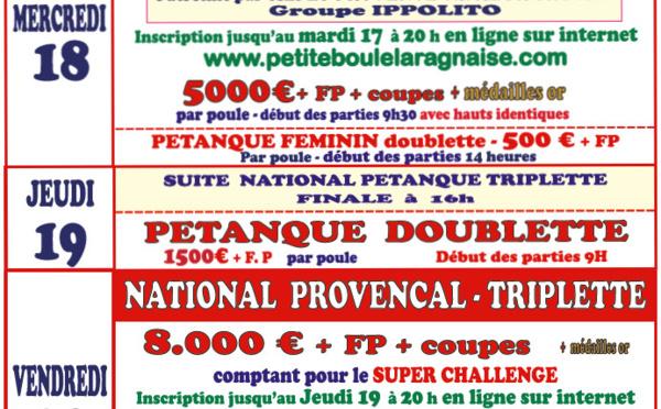 LARAGNE - 65° Critérium Bouliste