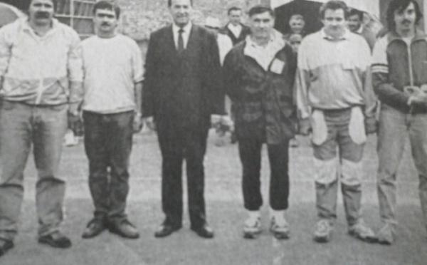 Championnat départemental tête à tête 1989 à Embrun