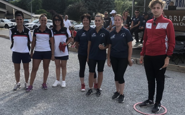 Championnes départementale triplettes féminins