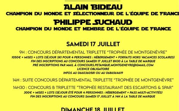 Concours Montgenèvre les 17 et 18 Juillet 2021